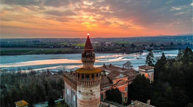 L'alba al Castello di Rivalta