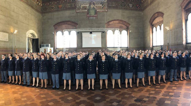 La cerimonia a Palazzo Gotico
