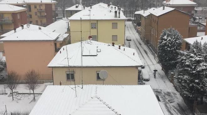 La nevicata del primo di marzo a Piacenza e in provincia