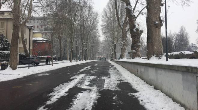 La nevicata del primo marzo 2018