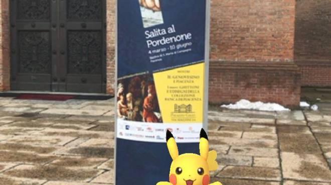 Pikachu al Pordenone