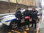 polizia municipale defibrillatore