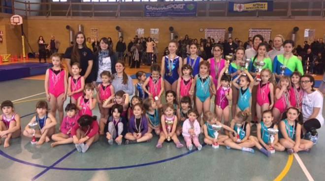 Trofeo ginnastica artistica a Pontedellolio
