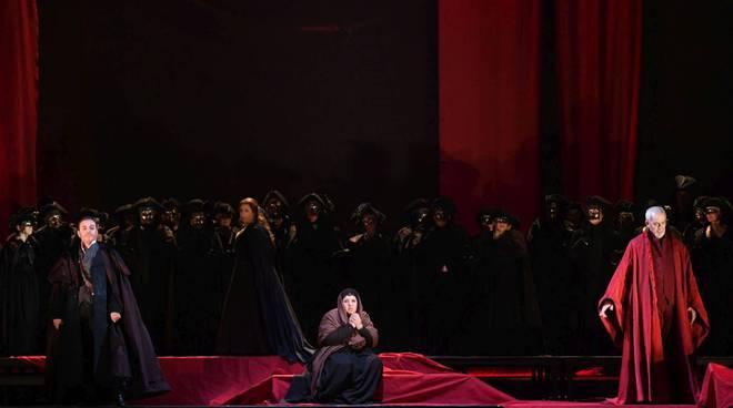 Una scena dell'opera La Gioconda