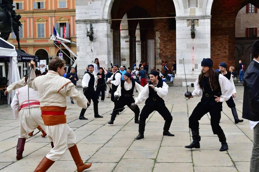 Flash mob Il Corsaro