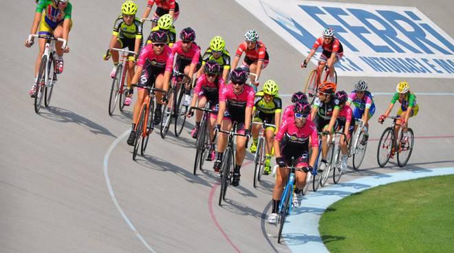 Gara giovanile di ciclismo a Fiorenzuola