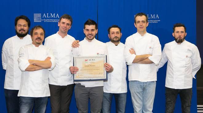 Giorgio Paratici diplomato Alma Cucina
