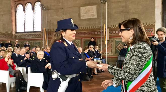 Gli agenti della polizia di stato premiati a Piacenza