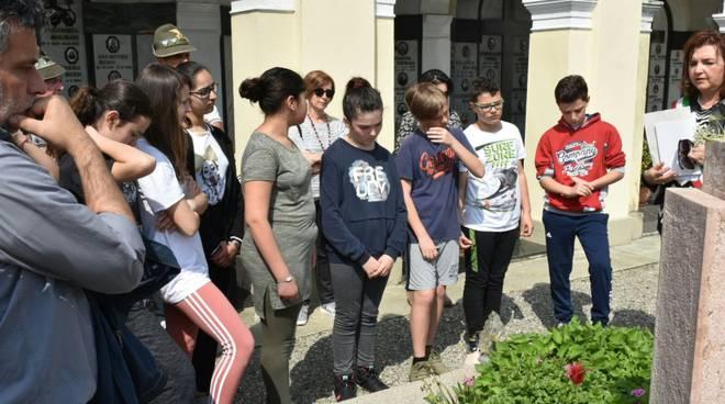Gragnano rende omaggio ai cippi partigiani