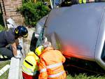 incidente incastrato Chiavenna Landi