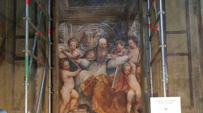 L'affresco in Santa Maria di Campagna