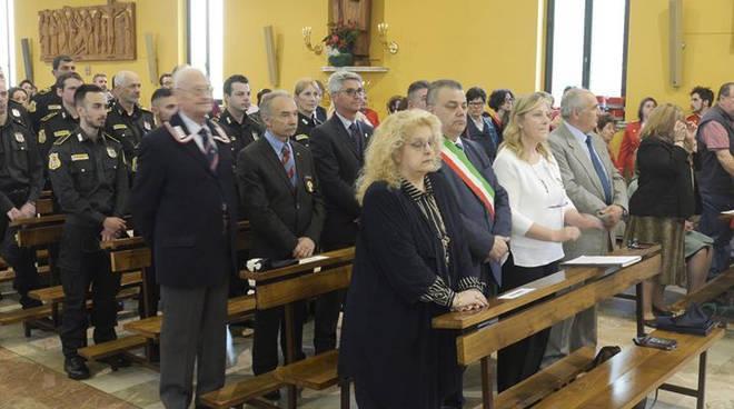 La cerimonia a Piacenza
