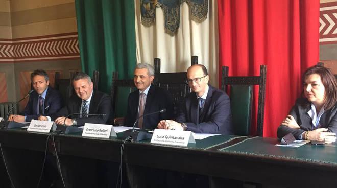 La firma del protocollo a Castelvetro