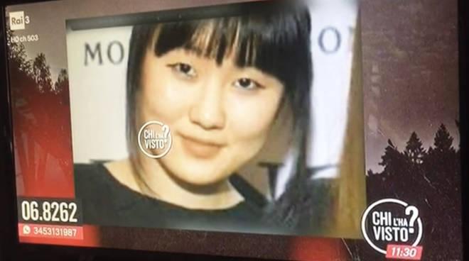 """La ragazza scomparsa nella segnalazione mandata in onda su """"Chi l'ha visto"""""""