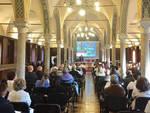 La Sala Colonne dell'ospedale di Piacenza