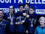 La squadra emiliana sul podio