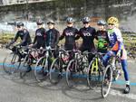 Nella foto, il gruppo che ha partecipato alla ricognizione della tappa piacentina del Giro Rosa