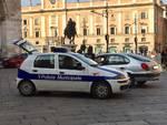 Polizia Municipale in piazza Cavalli
