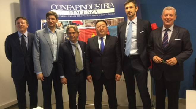 Ambasciatore della Mongolia a Confapi Industria Piacenza