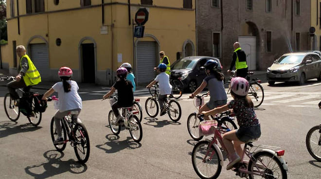 Bimbinbici a Piacenza