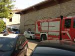 Carabinieri e soccorritori sul posto a Vicobarone