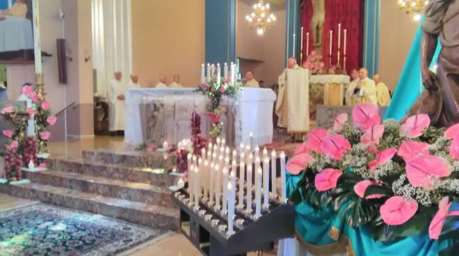 Coldiretti al Santuario Madre delle Genti di Strà di Nibbiano