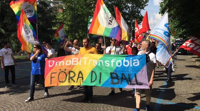 Corteo arcobaleno a Piacenza