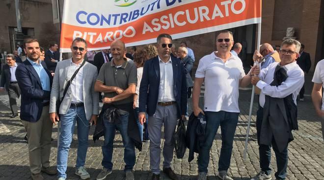 Delegazione piacentina a Roma