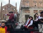 Farnese in carrozza a Piacenza