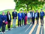 I componenti della lista del candidato sindaco Cassi