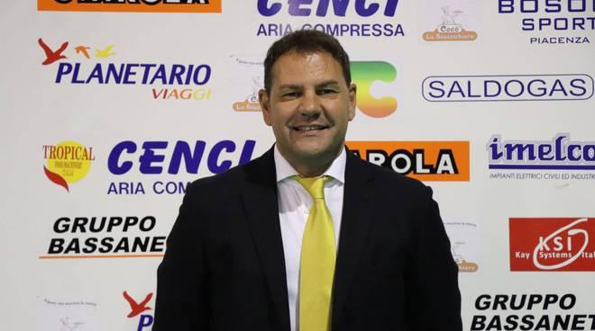 Il direttore sportivo della Canottieri Ongina Donato De Pascali