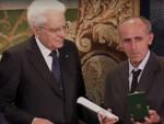 Il fratello di Luigi Albertelli riceve dal Presidente Mattarella la Stella alla memoria