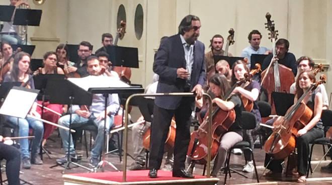 Il maestro Muti sul palco
