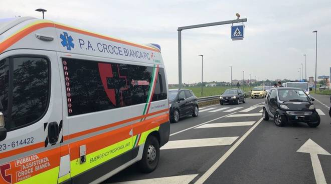 Incidente strada Agazzana