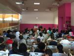 L'incontro di Renato Cravedi con i bambini della Comunità Islamica