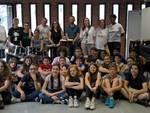 """La delegazione di Amazon con gli studenti della scuola """"Calvino"""""""