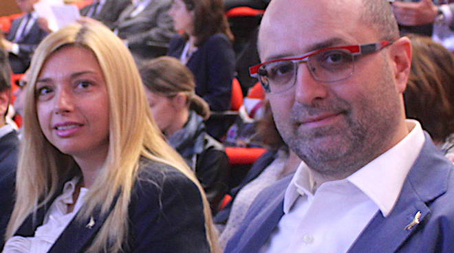 Murelli e il senatore Maurizio Campari