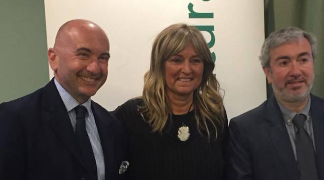 Nella foto Rossi, Bergamaschi e Canali