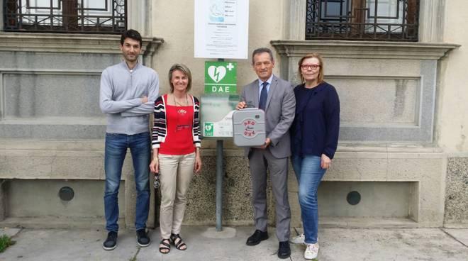 Nuovo defibrillatore a Cadeo
