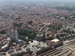 Piacenza vista dall'alto