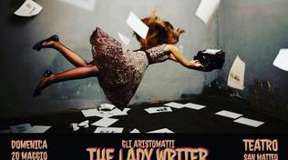 The lady writer