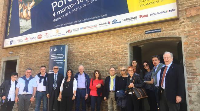 Visita garcom al Pordenone