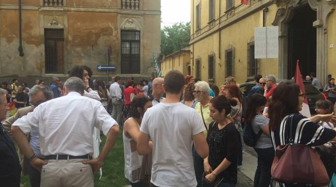 #apriteiporti, la manifestazione a Piacenza