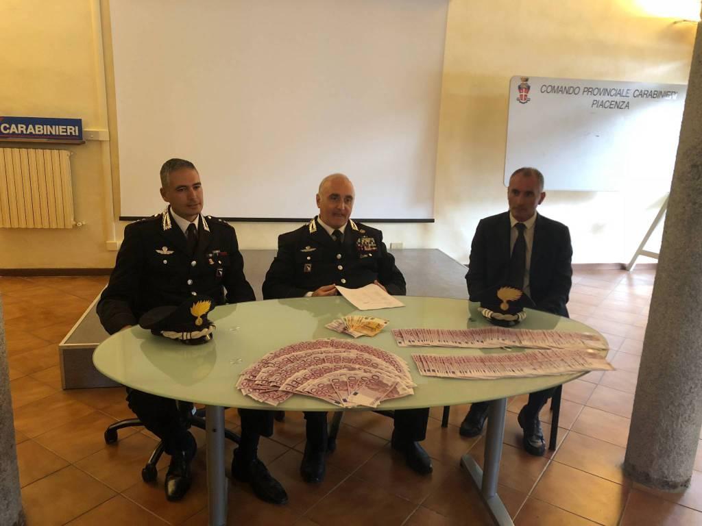 carabinieri soldi sequestrati