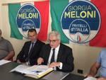 Conferenza stampa di Fratelli d'Italia