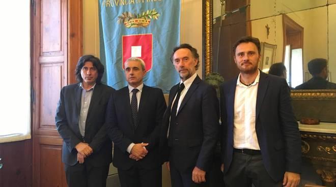 Conferenza stampa progetto ConfluPo