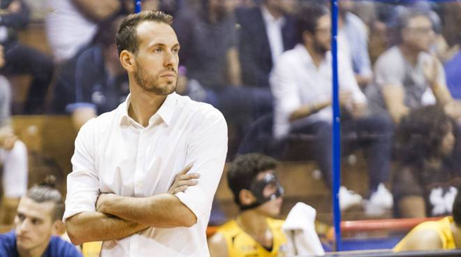 Gabriele Ceccarelli, coach Assigeco Basket
