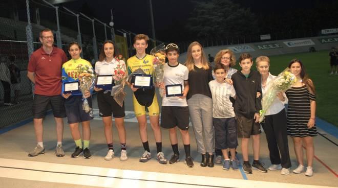 I vincitori del memorial Emilio Ferrari