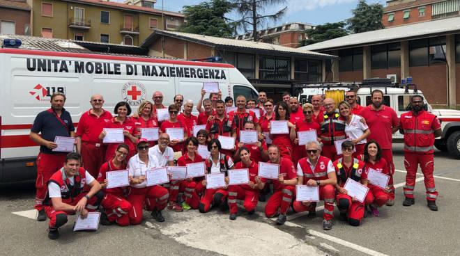 Il corso per operatori di emergenza della Croce Rossa