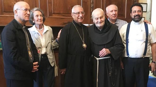 Il patriarca della Chiesa greco-melchita alla Salita al Pordenone